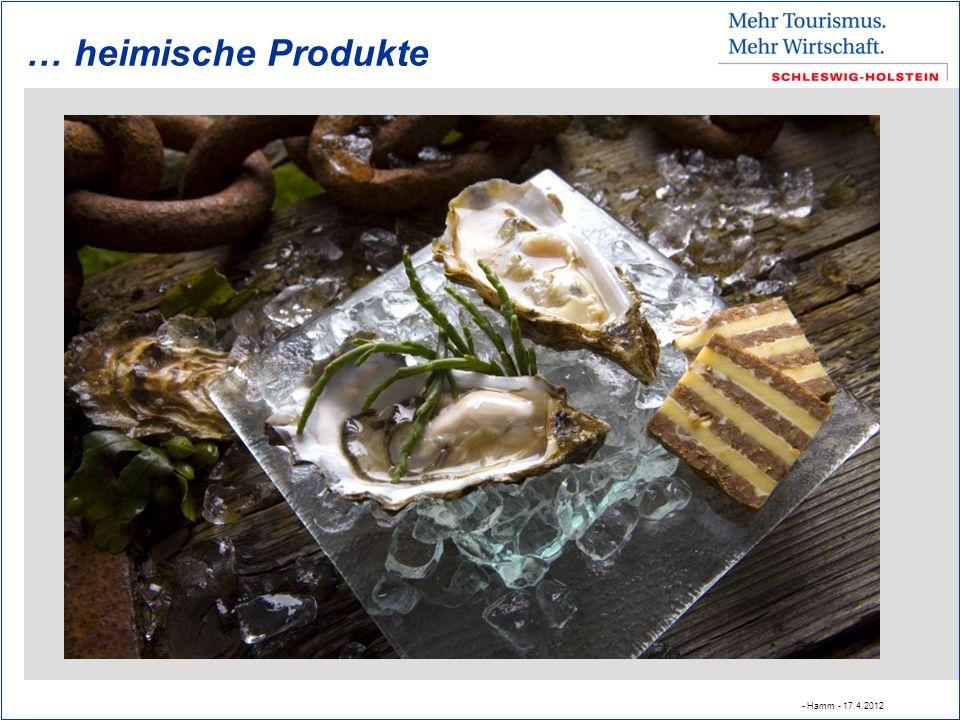 … heimische Produkte - Hamm - 17.4.2012