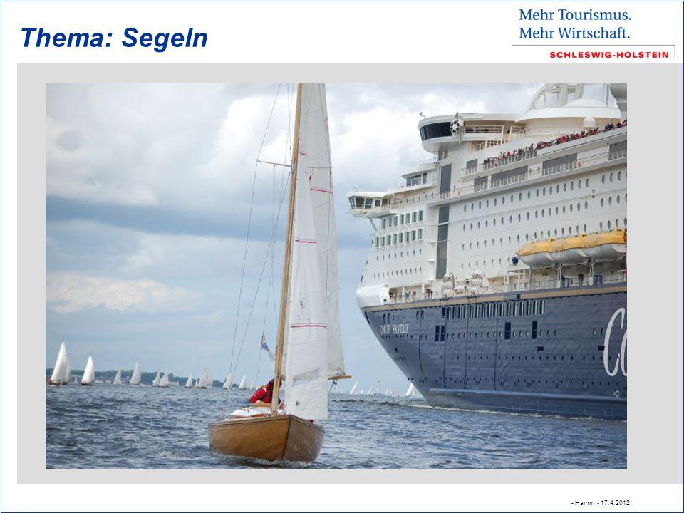 Thema: Segeln - Hamm - 17.4.2012