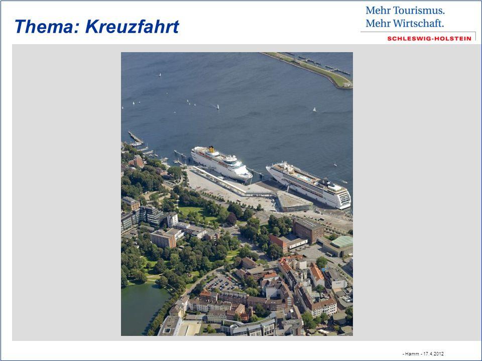 Thema: Kreuzfahrt - Hamm - 17.4.2012