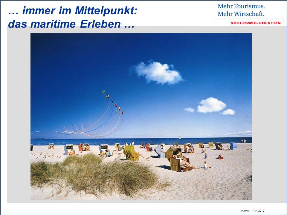 … immer im Mittelpunkt: das maritime Erleben … - Hamm - 17.4.2012