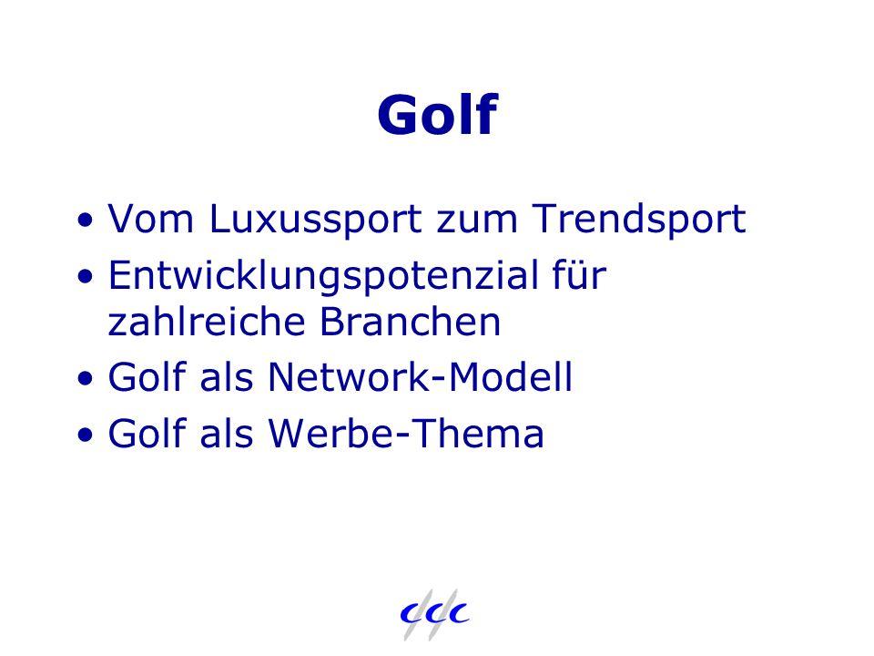 c/c/c Aktivitäten Golf Die Turnierserie für Führungskräfte in Marketing, Medien, Werbung und Wirtschaft im In- und Ausland Firmenturniere Incentives