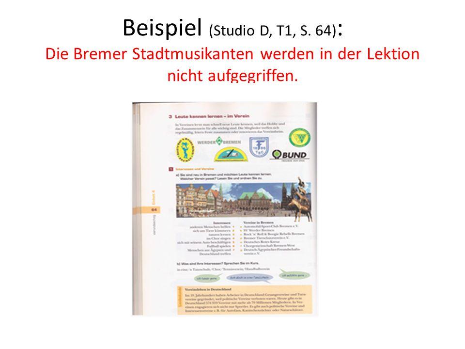 Beispiel (Studio D, T1, S.