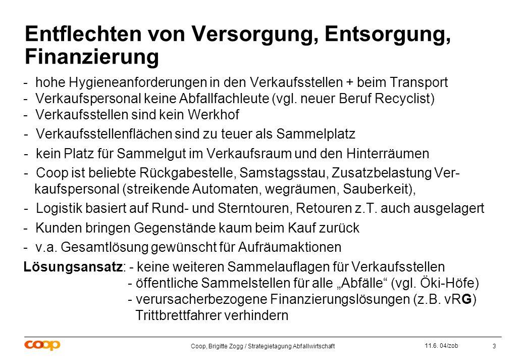 Coop, Brigitte Zogg / Strategietagung Abfallwirtschaft3 11.6.
