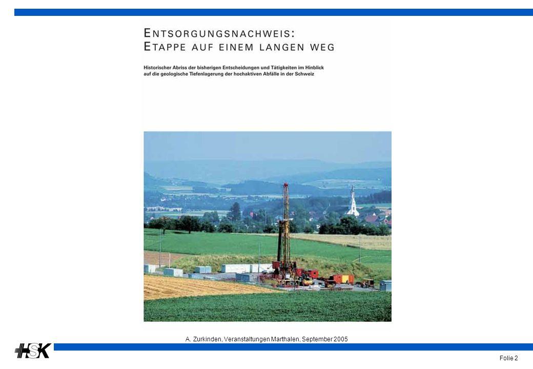 A. Zurkinden, Veranstaltungen Marthalen, September 2005 Folie 2