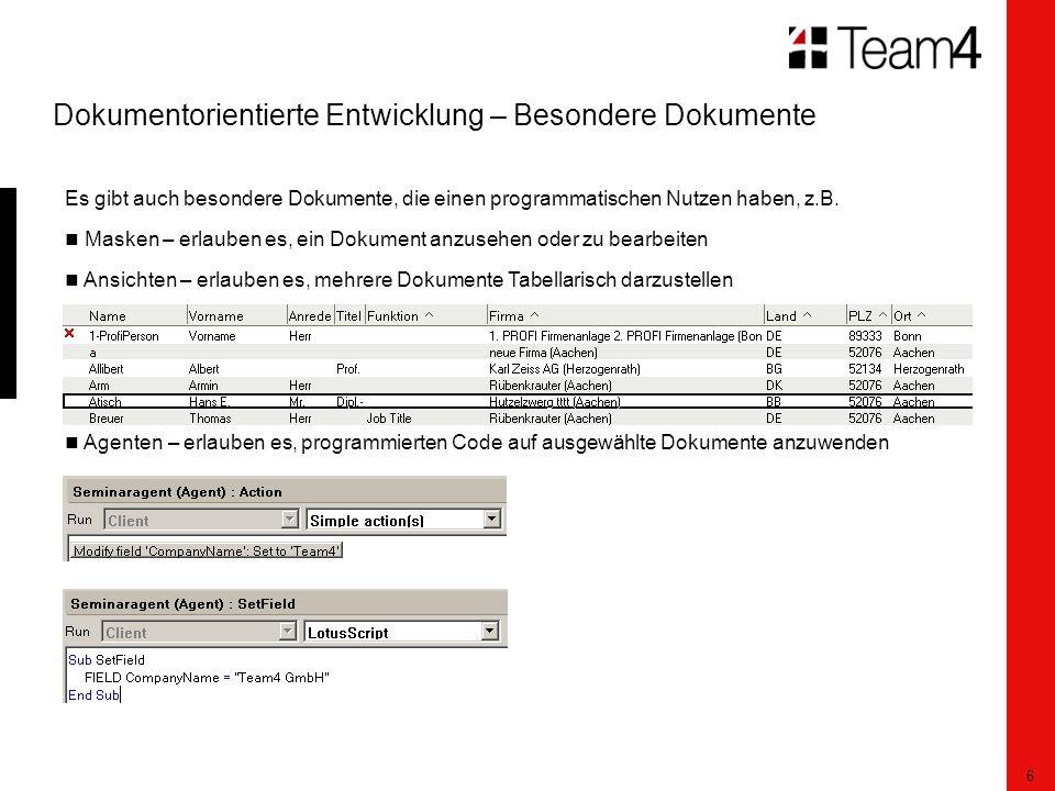 17 Motivation – Realisierung der Relationen Beispiel 4: Einfache Relation Schmidt hat sich nun bewährt und bekommt eine Gehaltserhöhung.