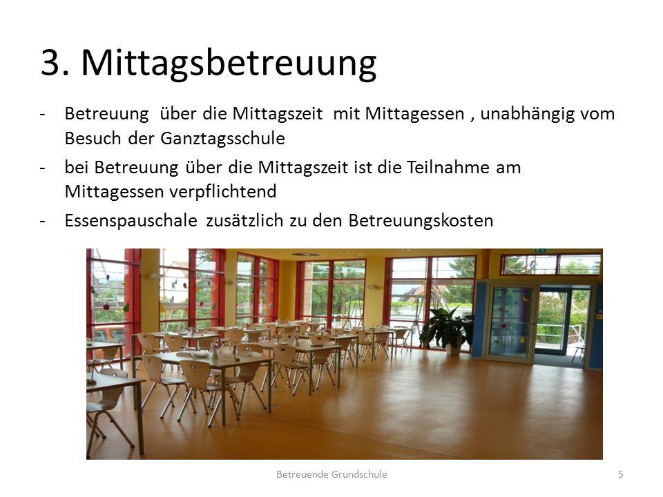 4. Projekte -Angebote an den Freitagnachmittagen -keine zusätzlichen Kosten Betreuende Grundschule6