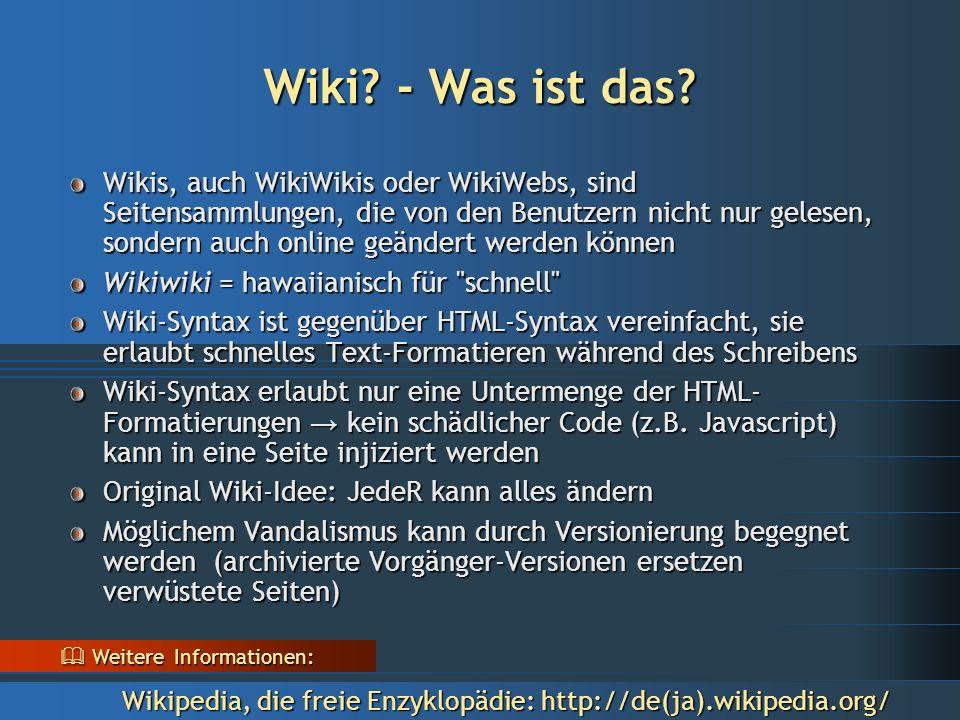 Was bietet TikiWiki Kommunikationsmöglichkeiten, wie z.B.: Chaträume, Foren, Mitteilungsbretter, Wiki, Rundbriefe, Nachrichten, Megaphon, Kommentareinrichtung, Terminkalender, Umfragen, Befragungen, etc.
