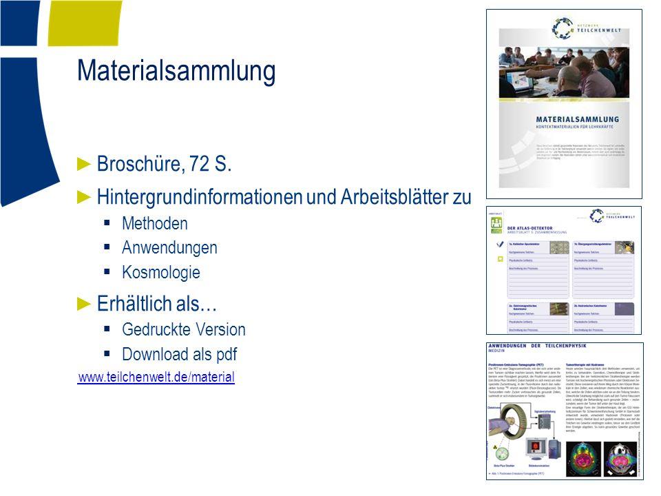 Materialsammlung ► Broschüre, 72 S.