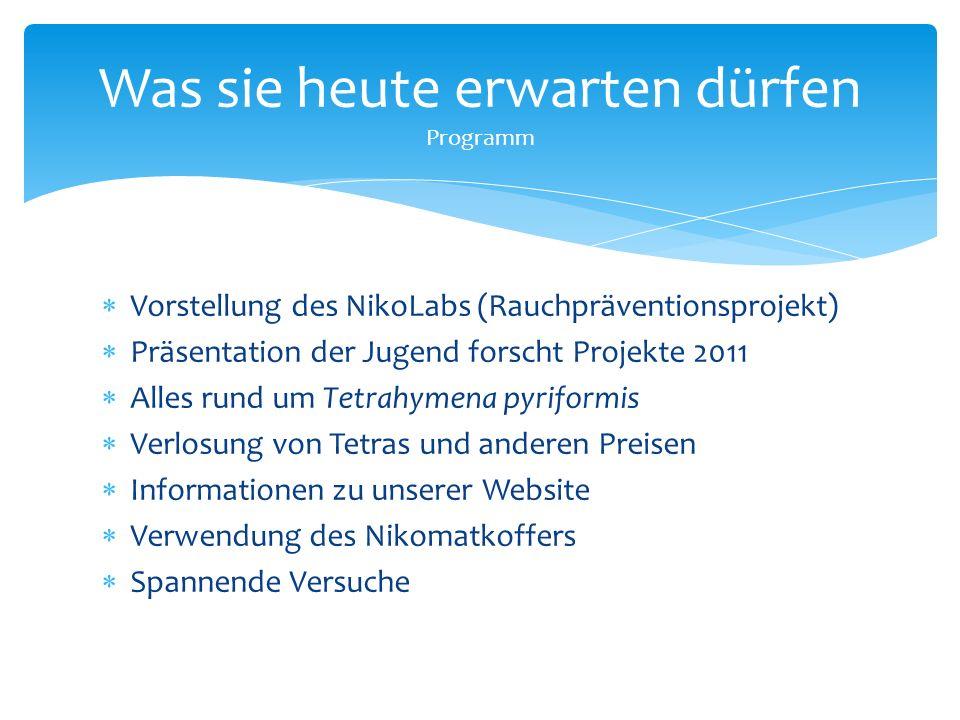  Wir haben:  Internationale Besucherquoten  Besucher des Rauchpräventionsprojekts  Die Website bietet Infos zu/zum:  Rauchpräventionsprojekt  Zu allen anderen Projekten  Aktuelle Dinge  Gymnasium Gosheim-Wehingen Unsere Website