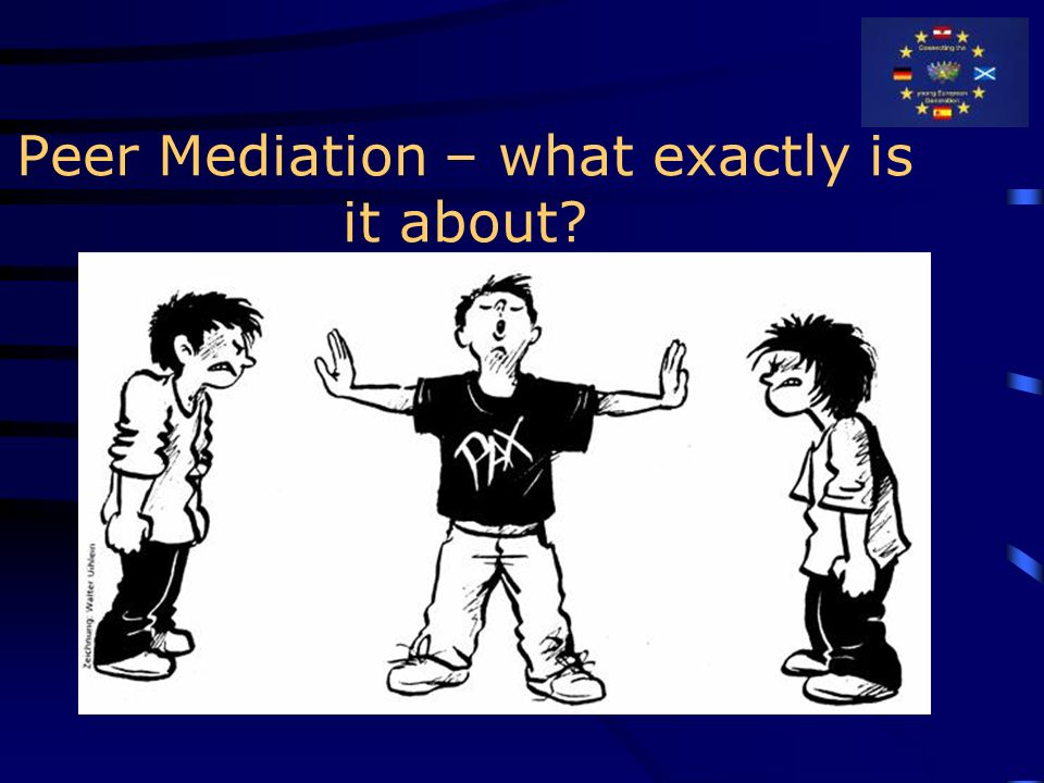 Peer Mediation – what exactly is it about?