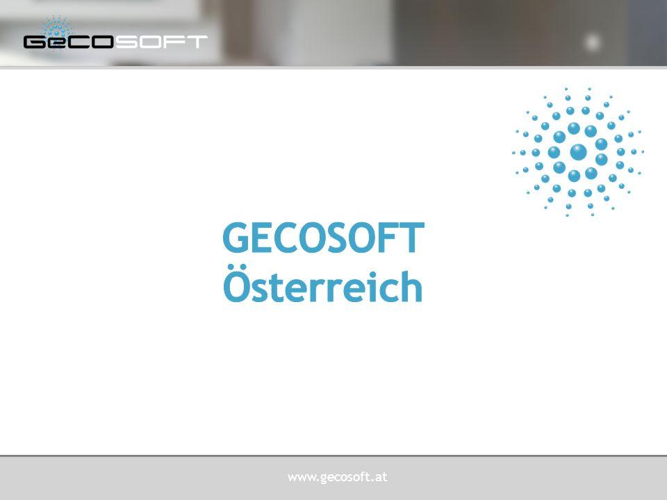 www.gecosoft.at ZEIT-, ZUTRITTS-, BETRIEBSDATENERASSUNG  GeCOTime ® Anwender