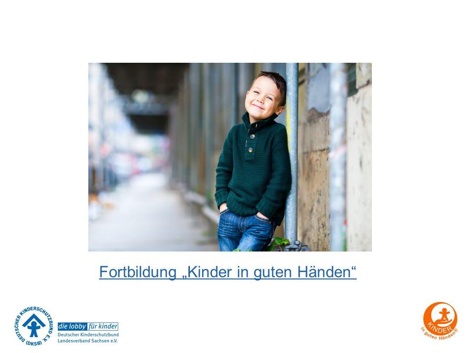 """Fortbildung """"Kinder in guten Händen"""""""