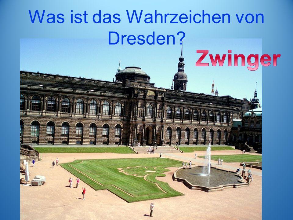 Was ist das Wahrzeichen von Dresden