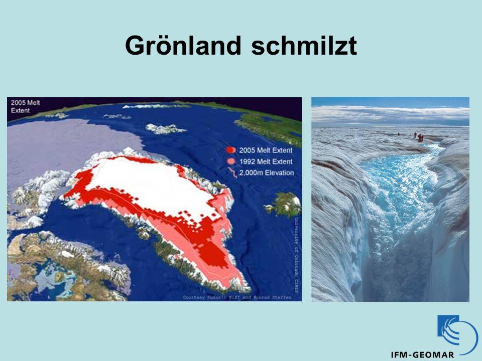 Grönland schmilzt