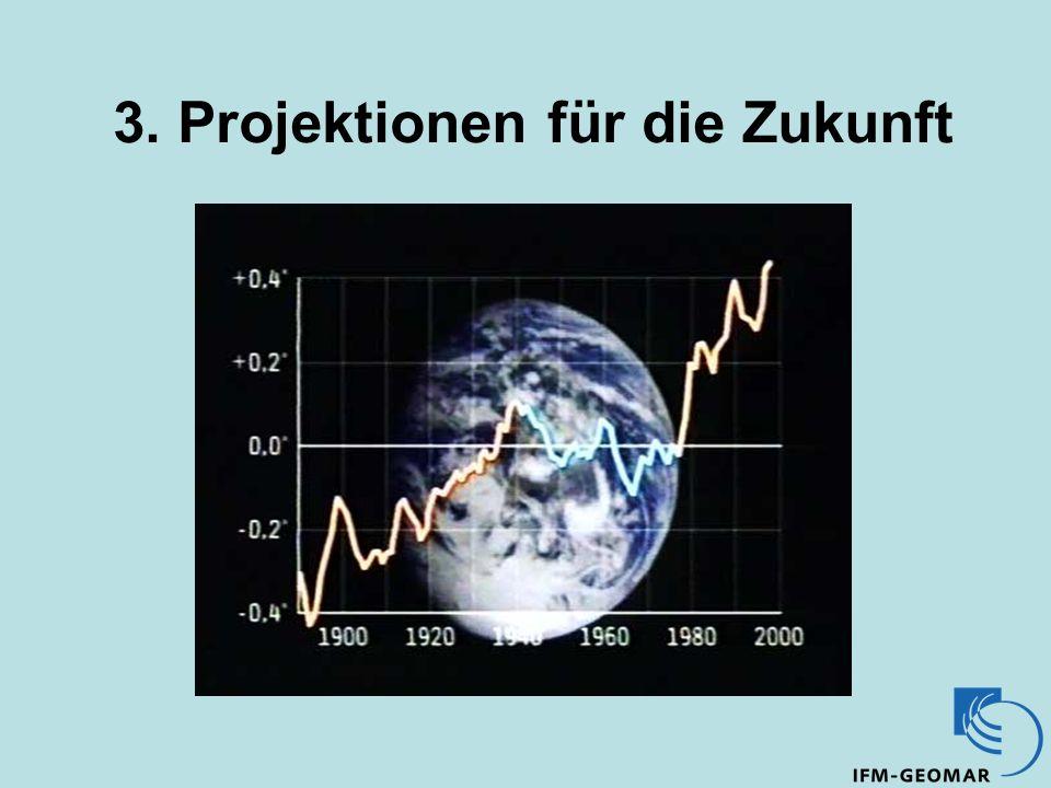 3. Projektionen für die Zukunft