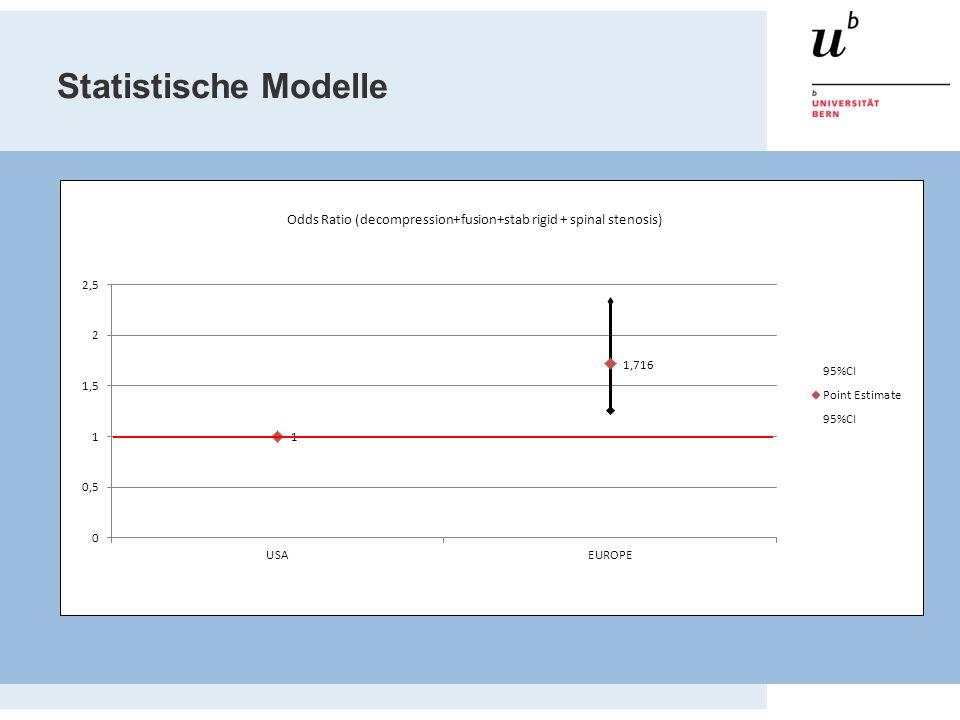 Statistische Modelle