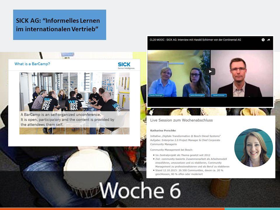 SICK AG: Informelles Lernen im internationalen Vertrieb