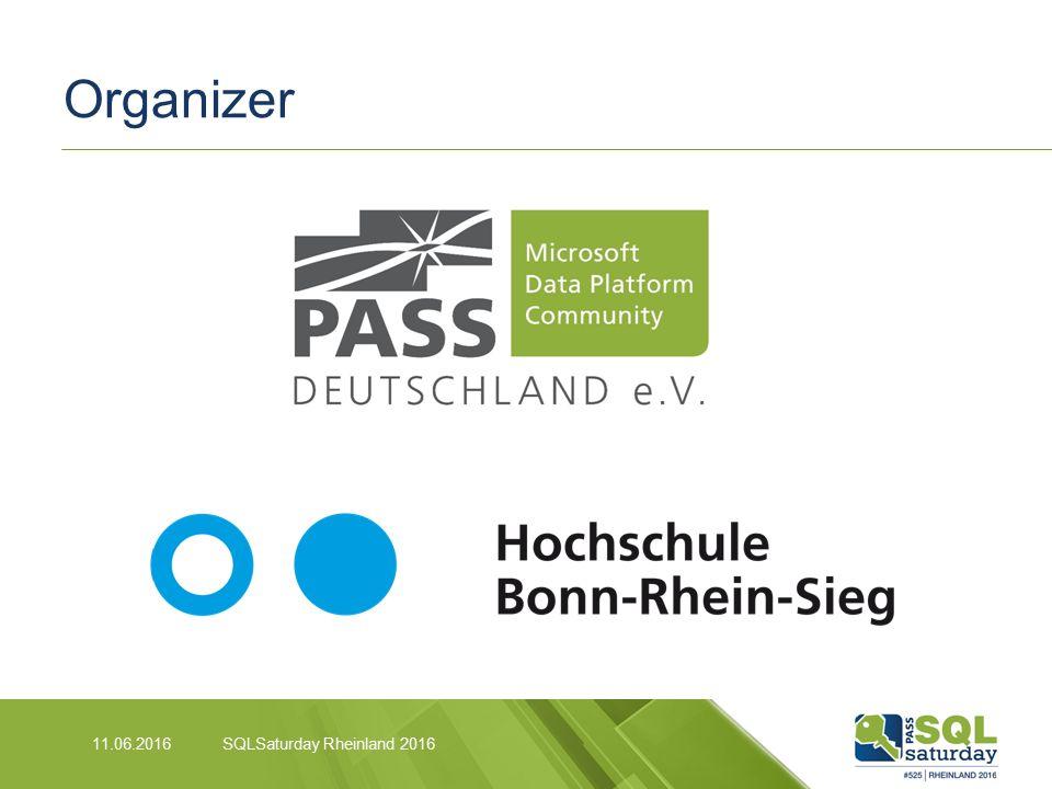Organizer SQLSaturday Rheinland 201611.06.2016