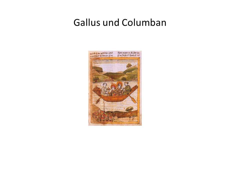 Gallus und Columban