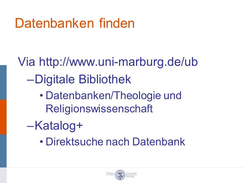 ATLA Religion Database