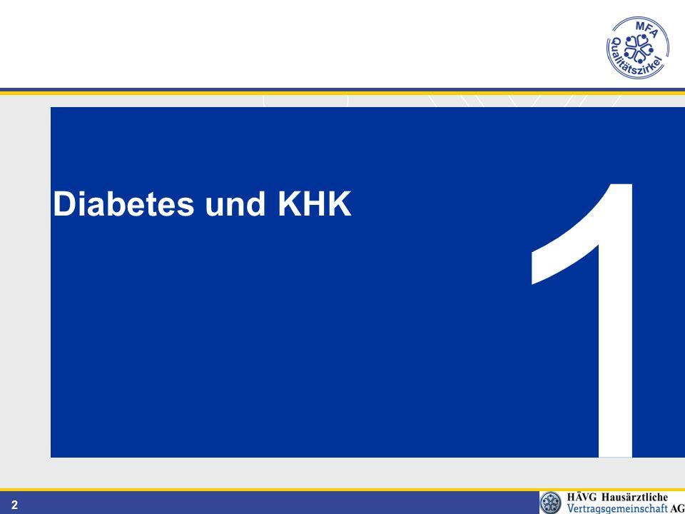 2 Diabetes und KHK 1
