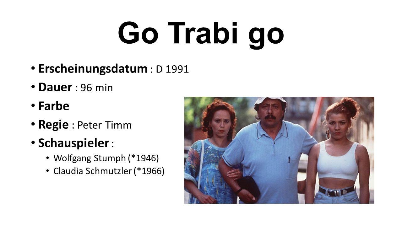 Erscheinungsdatum : D 1991 Dauer : 96 min Farbe Regie : Peter Timm Schauspieler : Wolfgang Stumph (*1946) Claudia Schmutzler (*1966)