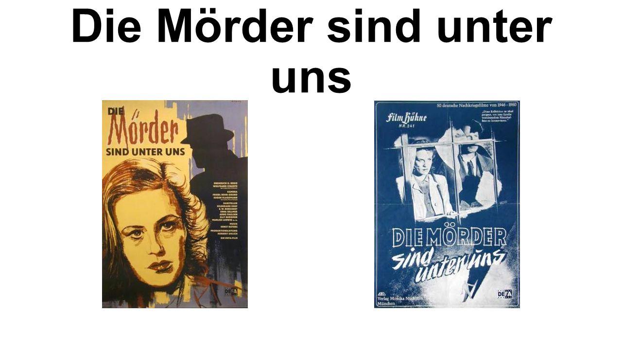 Der Verdacht Erscheinungsdatum : D 1990/91 Dauer : 97 min Farbe Regie : Frank Beyer Schauspieler : Christiane Heinrich Nikolaus Gröbe (*1972)