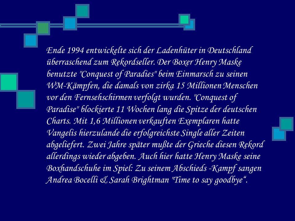 Ende 1994 entwickelte sich der Ladenhüter in Deutschland überraschend zum Rekordseller.