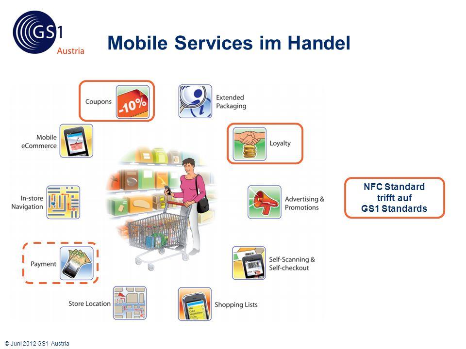 © Juni 2012 GS1 Austria Touchpoints: Coupons & Loyalty Mobile Poket verfügbar auf div.