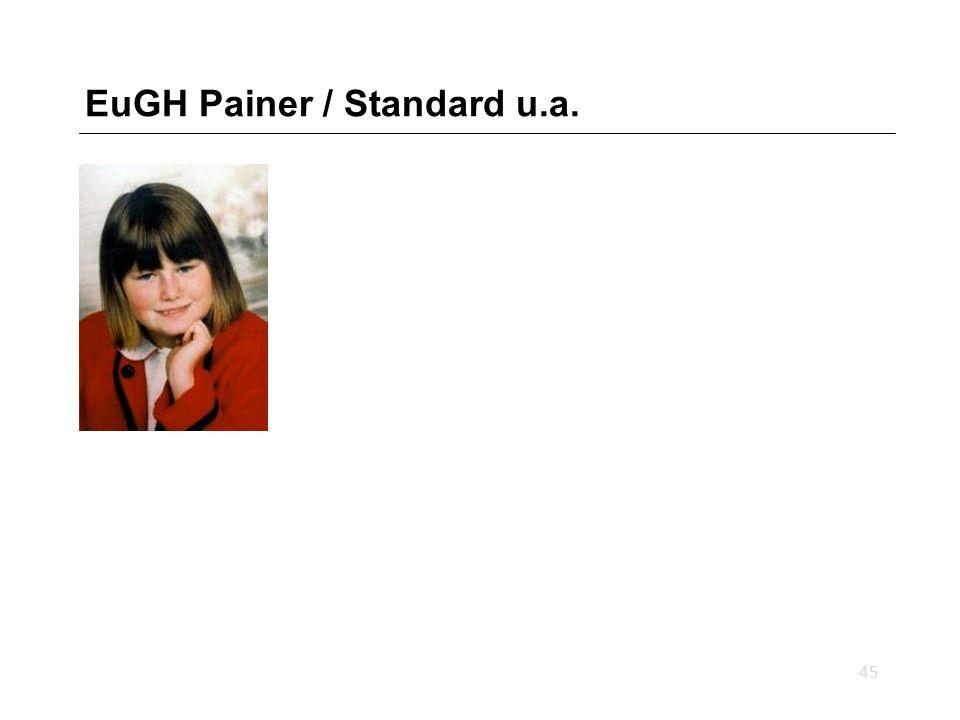 EuGH Painer / Standard u.a. 45
