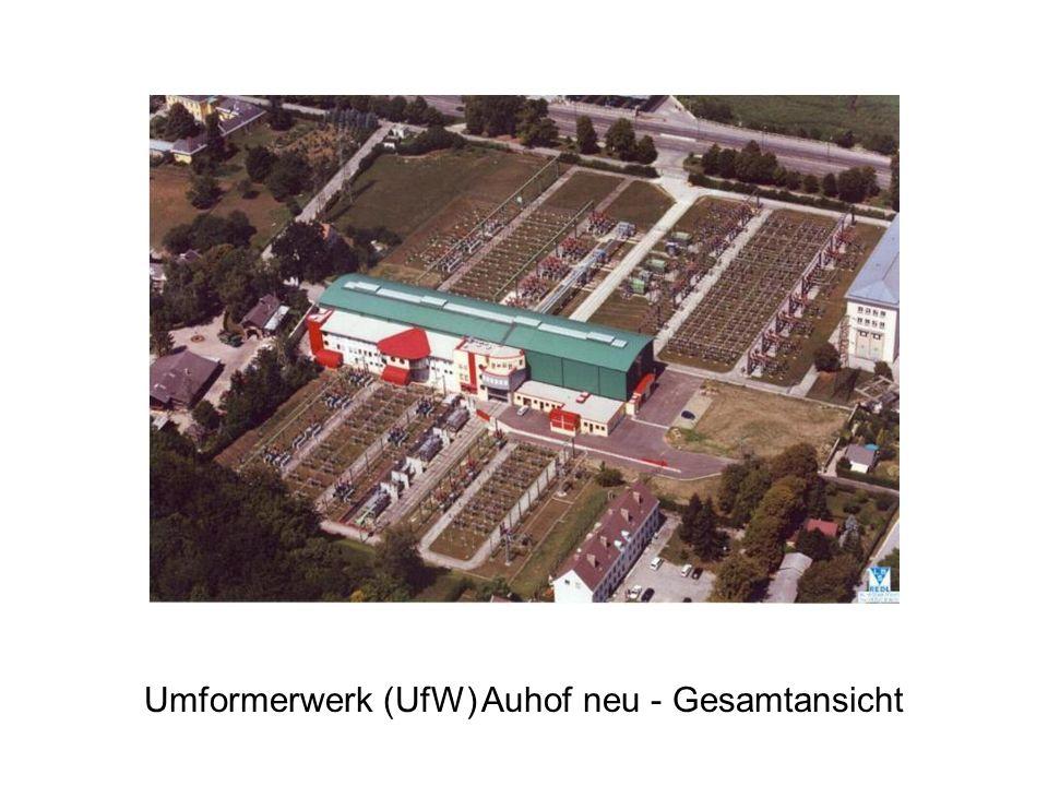 Umformerwerk (UfW) Auhof neu - Gesamtansicht