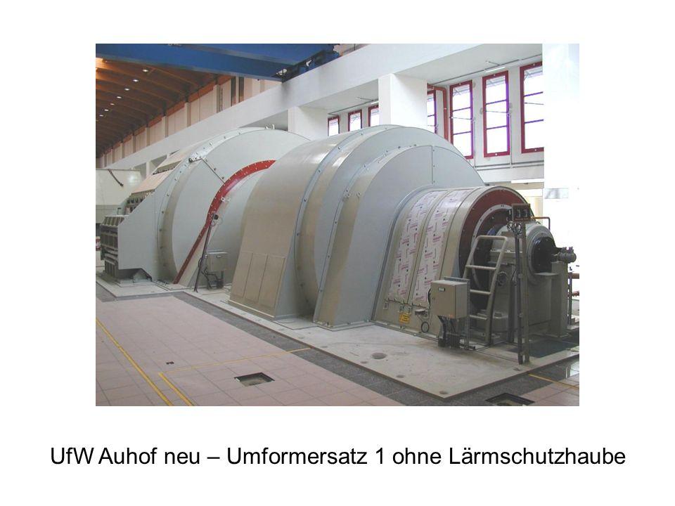 UfW Auhof neu – Umformersatz 1 ohne Lärmschutzhaube