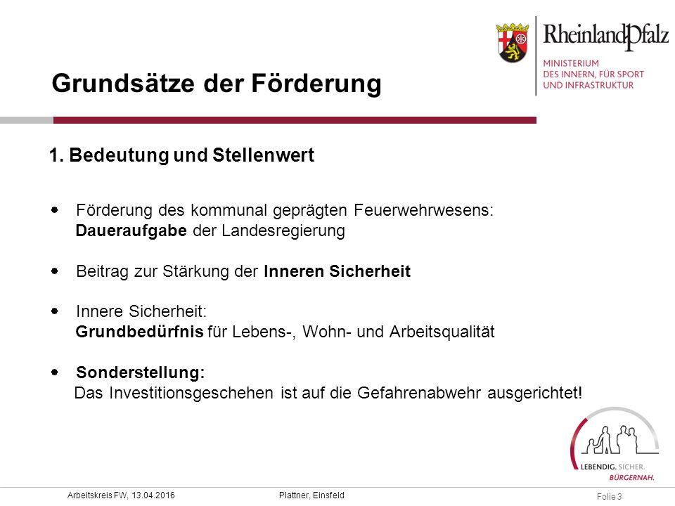 Folie 4 Plattner, EinsfeldArbeitskreis FW, 13.04.2016  § 34 Abs.