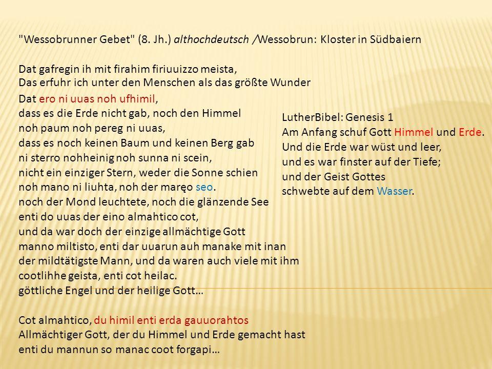 Wessobrunner Gebet (8.