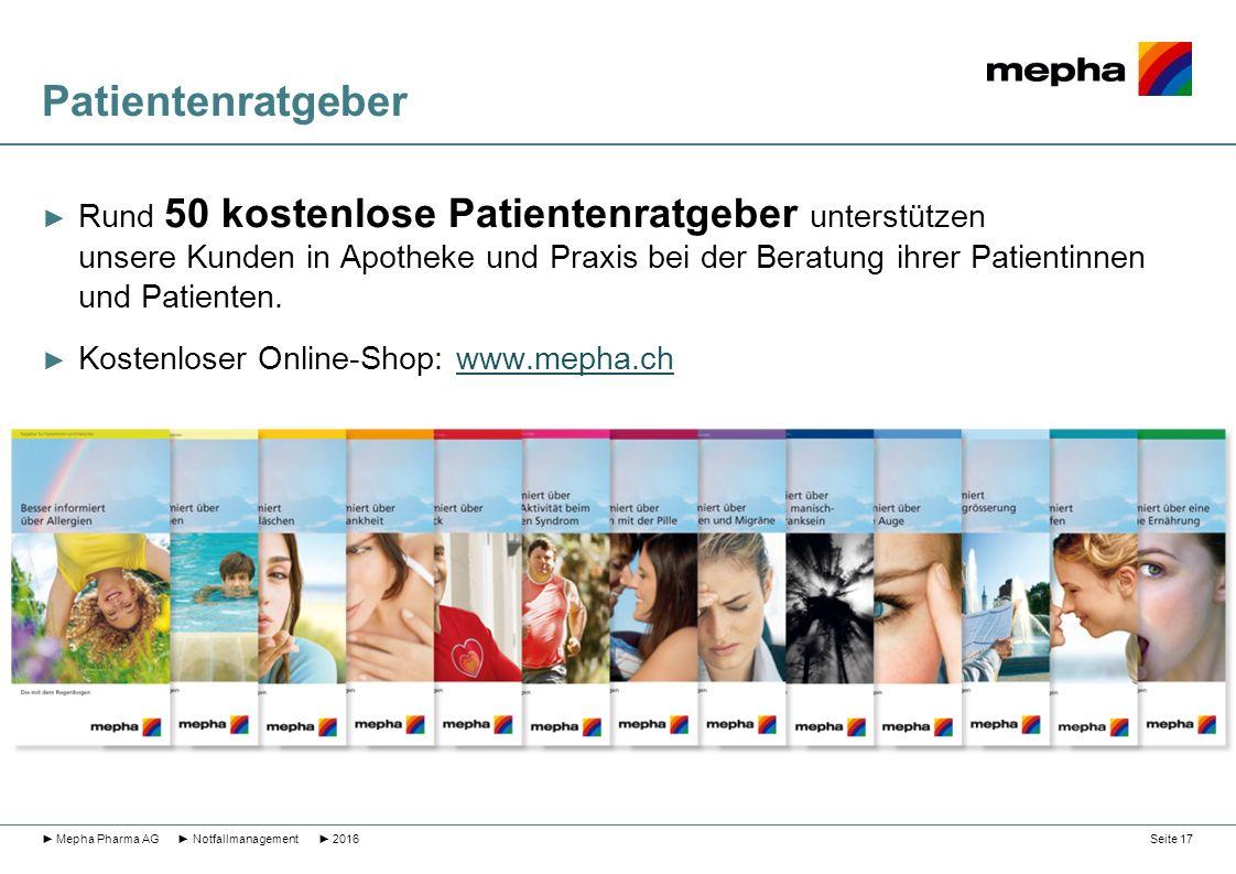 Patientenratgeber ► Rund 50 kostenlose Patientenratgeber unterstützen unsere Kunden in Apotheke und Praxis bei der Beratung ihrer Patientinnen und Pat