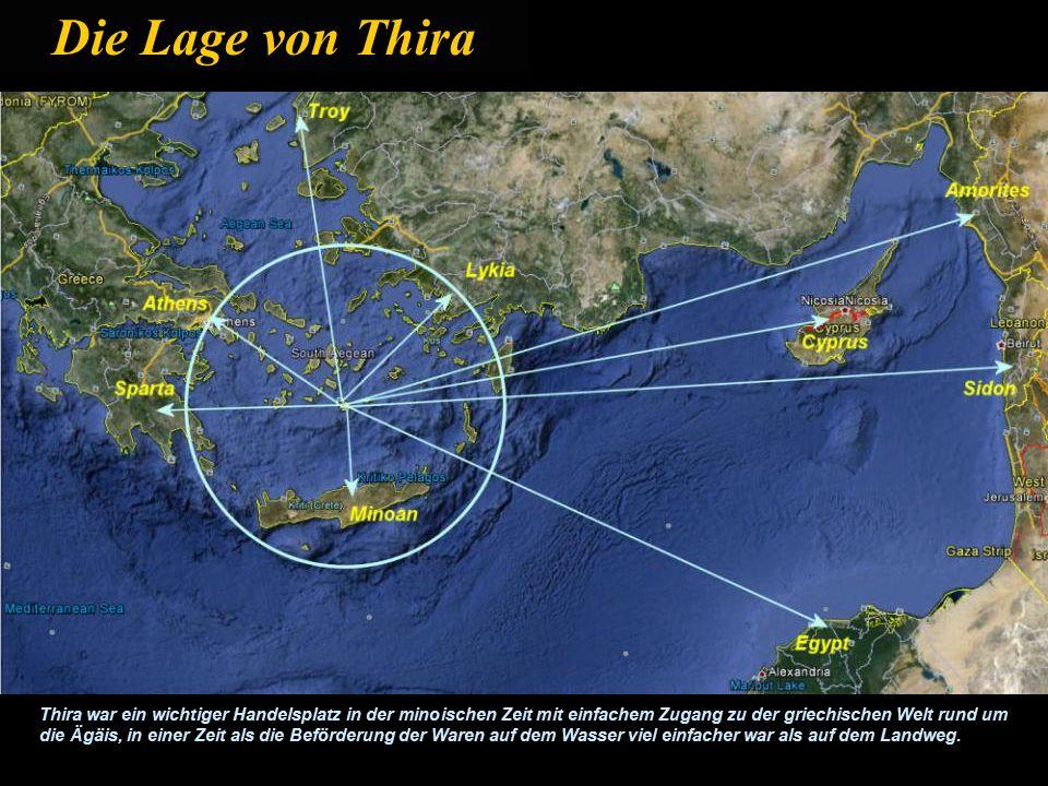 Ancient Thira oder Alt Thira (Santorini) Die Insel erhielt den Namen Santorin erst unter venezianischer Herrschaft zwischen 1207 und 1508. Die Grieche