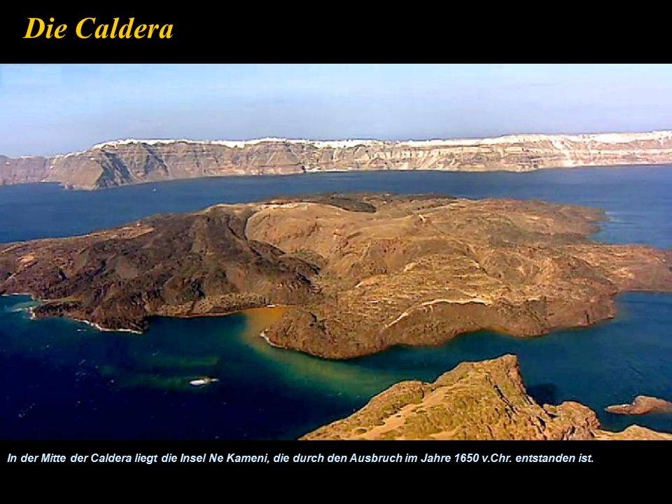 Ancient Thira oder Alt Thira (Santorini) Die Insel erhielt den Namen Santorin erst unter venezianischer Herrschaft zwischen 1207 und 1508.