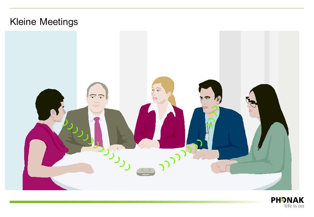 Kleine Meetings