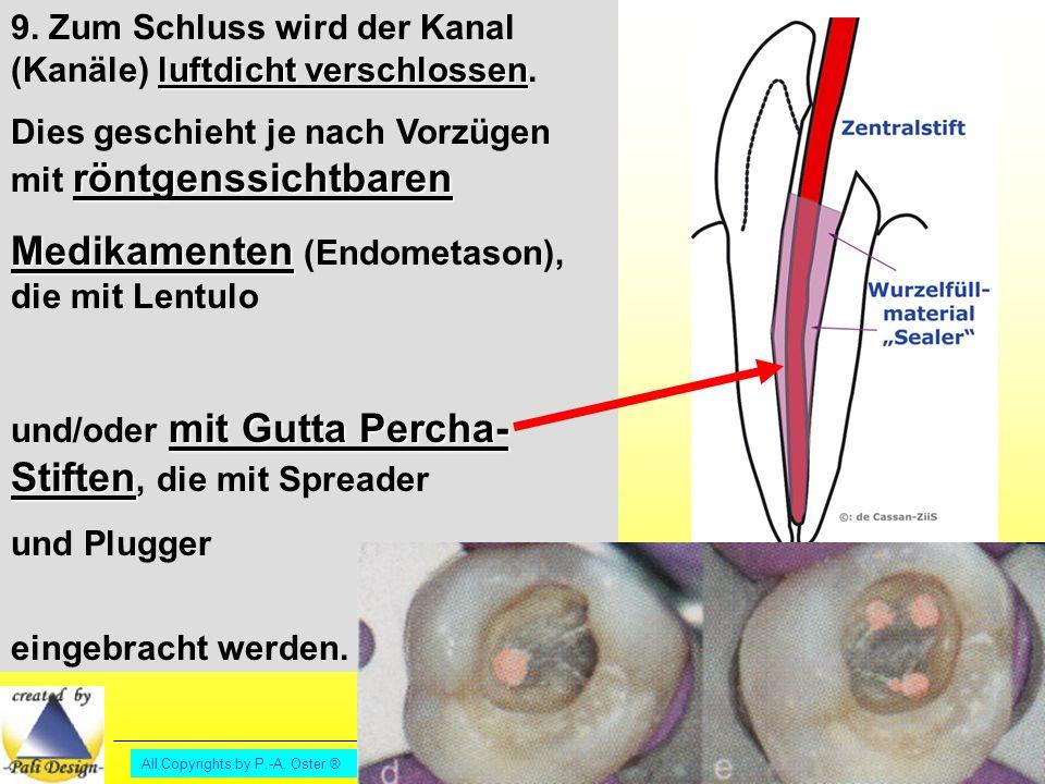 All Copyrights by P.-A.Oster ® luftdicht verschlossen 9.