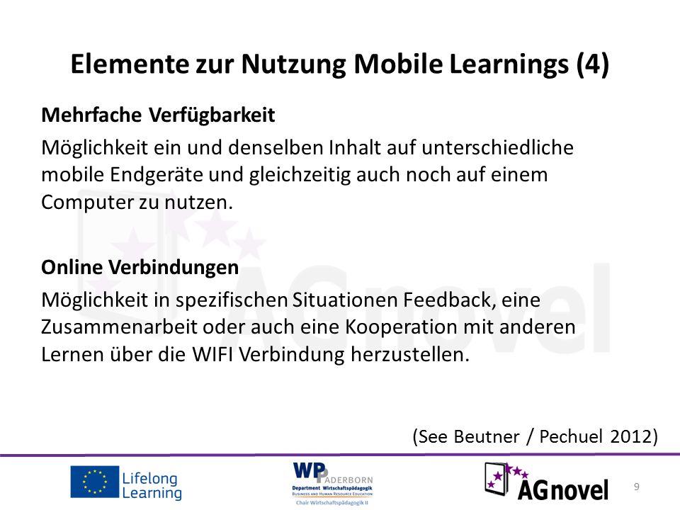 Vorteile von Mobile Learning.
