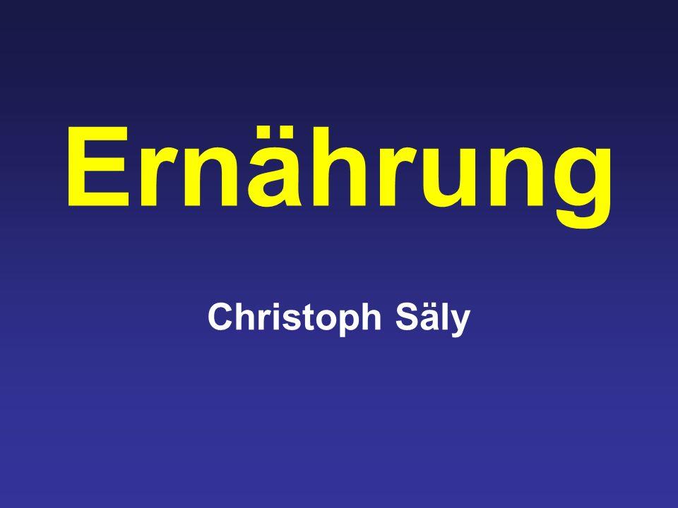 Ernährung Christoph Säly