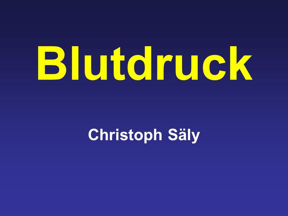 Blutdruck Christoph Säly