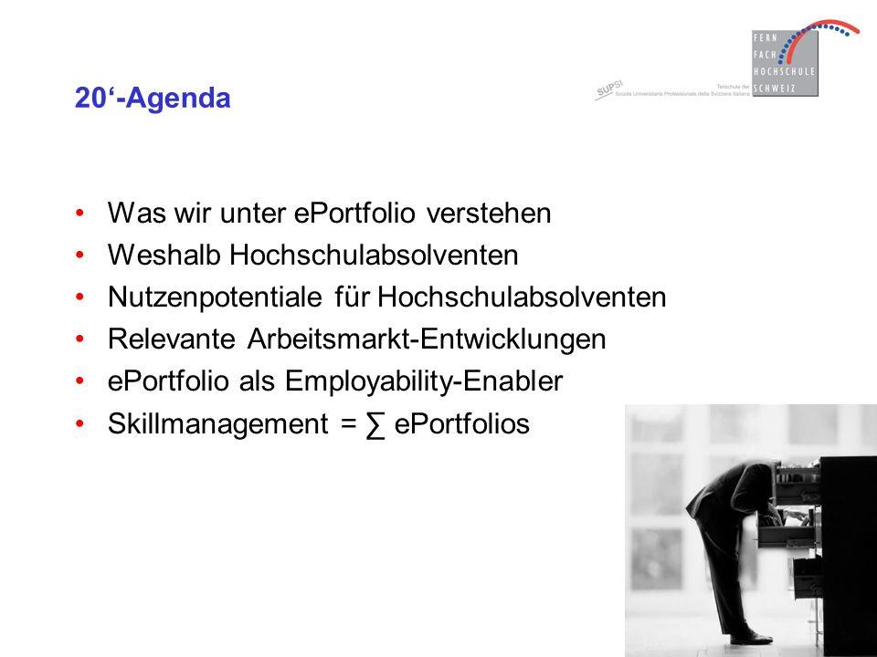 Career Portfolio ePortfolio Learning Portfolio Life Portfolio Was wir unter ePortfolio verstehen Ein ePortfolio ist ein webbasiertes Informations- und Dokumentationssystem mit privaten, bildungs- und berufsrelevanten Inhalten, welches zum einen die persönliche Entwicklung und zum anderen das individuelle Wissensmanagement unterstützt.