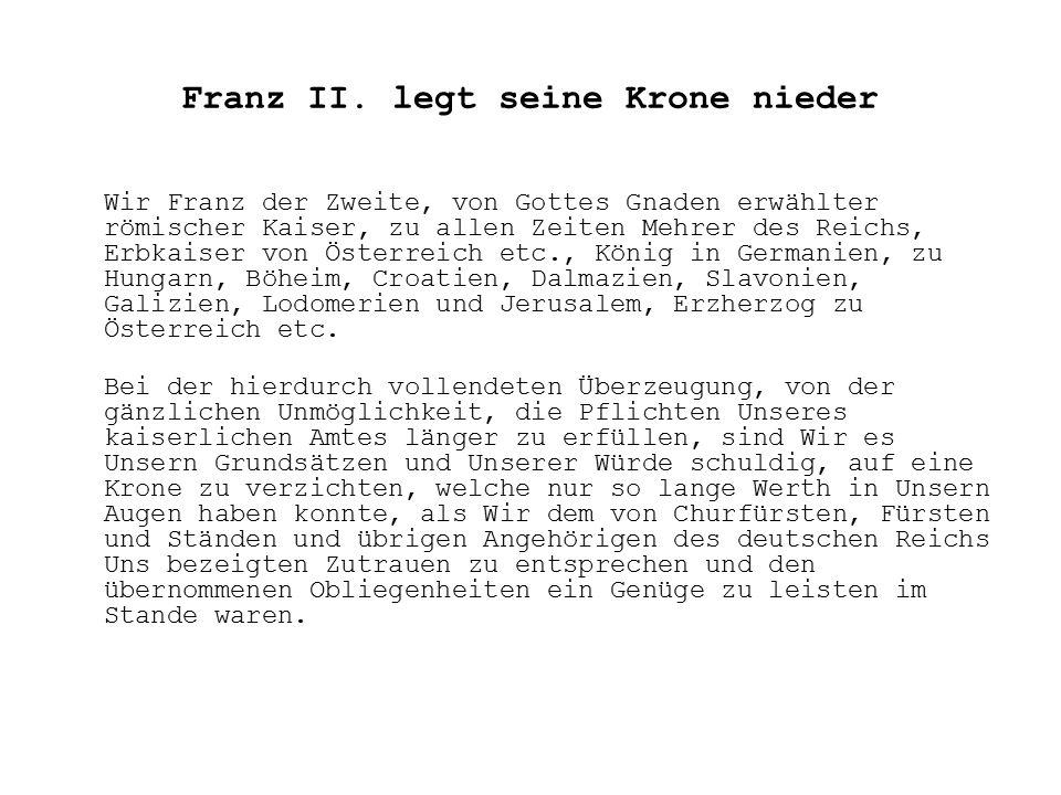 Franz II.