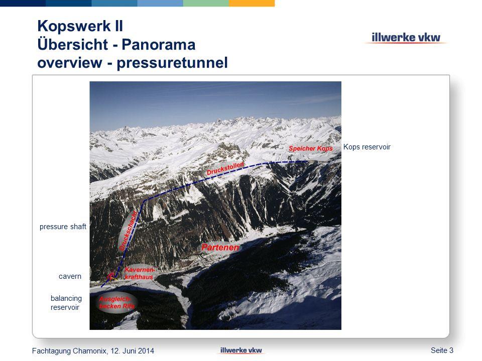 Höhenkontrollen im Kontrollgang 4 leveling of dam Kontollgang 4 Setzung 4 mm Setzungsbereich Fachtagung Chamonix, 12.