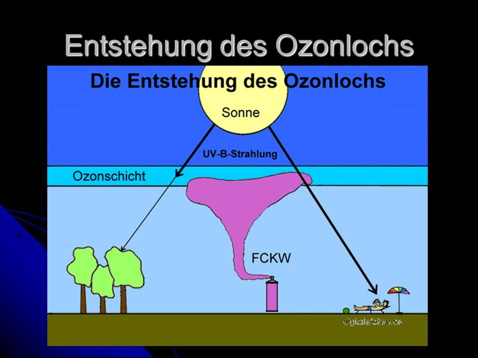 Entstehung des Ozonlochs