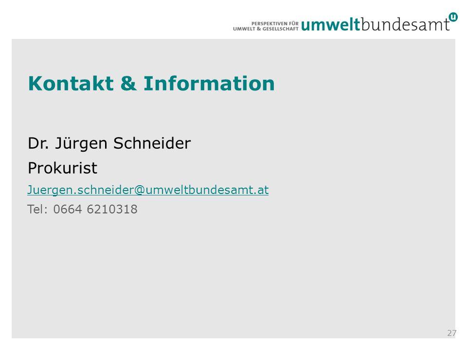 Kontakt & Information Dr.