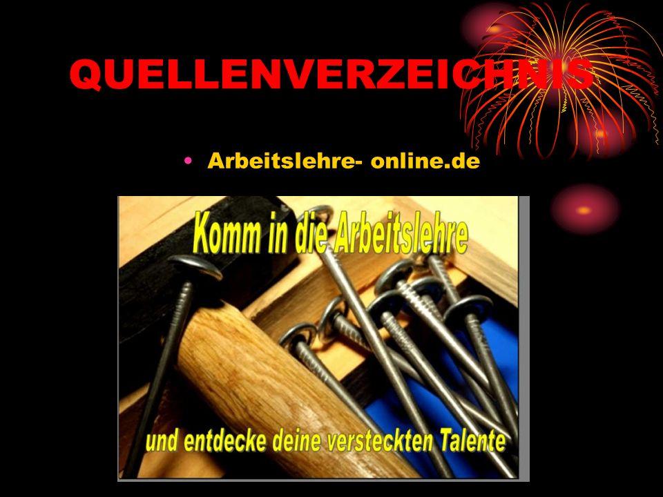 QUELLENVERZEICHNIS Arbeitslehre- online.de