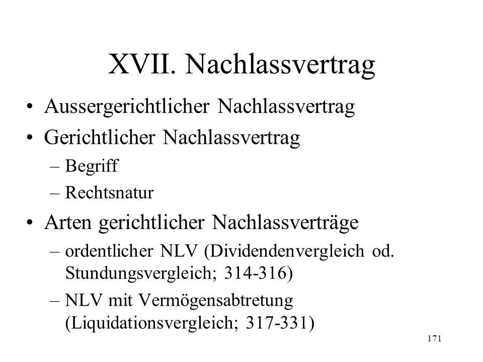 170 Fall 43 Die Aktionäre der insolventen X AG, die schon seit längerer Zeit keine Löhne und Mieten mehr bezahlt hat, möchten mit Privatgeld eine neue