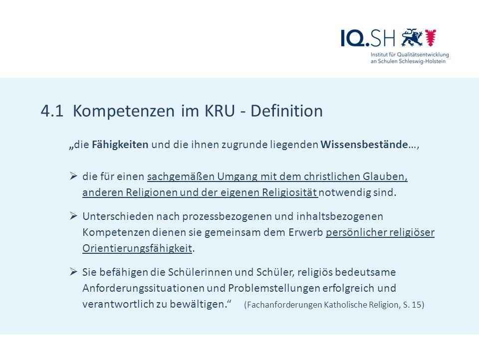 4.2 Prozessbezogene Kompetenzen  Wahrnehmungs- und Darstellungskompetenz  Deutungskompetenz  Urteilskompetenz  Dialogkompetenz  Gestaltungskompetenz (vgl.